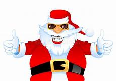 cool happy santa royalty free stock image image 17025086