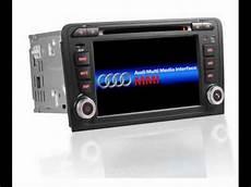 audi a3 dvd gps navigation 2 din radio in dash