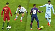 Neymar Jr Vs Cristiano Ronaldo Top 20 Craziest Skills Hd