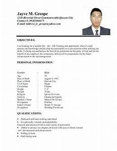 exles for 3 resume format resume sles