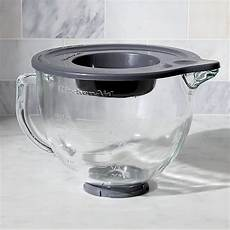 Mixer Glass Bowl by Kitchenaid 174 Stand Mixer Glass Mixer Bowl Crate And Barrel