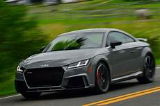 2018 audi tt rs first review motor trend