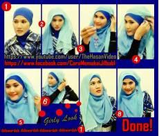 Tutorial Jilbab Untuk Hijaber Indonesia Tutorial Model