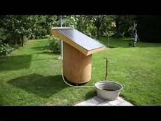 warmwasser mit solar der alm und gartenwichtel solar warmwasser im garten und