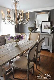 Home Decor Ideas For Dining Room by Dining Room With Both Traditional And Rustic