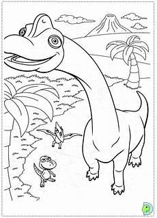 dino coloring page dinokids org