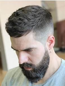 24 ultra modern short hairstyles with beard haircuts hairstyles 2019