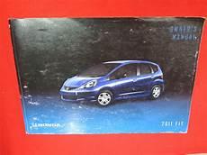 2011 honda fit owners manual guide book ebay
