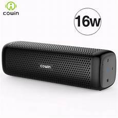 bluetooth lautsprecher stereo cowin 6110 mini wireless bluetooth 4 1 stereo portable
