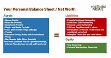 your personal cash flow statement the complete guide investment moats