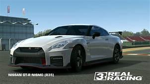 NISSAN GT R NISMO R35  Real Racing 3 Wiki Fandom