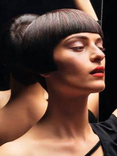 hair sweet hair berlin sixties haircut with a rounded shape and a playful