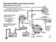 Wiring Diagram For 12 Volt Conversion Of Alternator On Ferguson To 30 by 12volt Alternator Conversion On A U Yesterday S Tractors