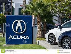 acura automobile dealership sign and logo editorial stock image image 56583109