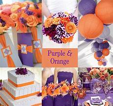 wedding decorations orange and purple 20 orange and purple wedding ideas everafterguide