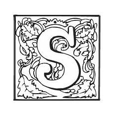 lettere alfabeto da stare e colorare letter s coloring pages free coloring pages