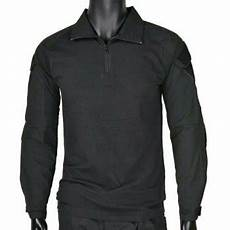 jual combat shirt hitam baju tactical baju bdu army