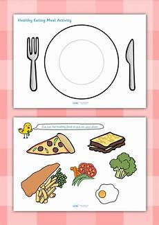 food lesson worksheets 19352 twinkl resources gt gt healthy meal activity gt gt thousands of printable primary teaching