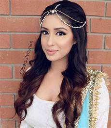 17 best images about lehenga hairstyles on pinterest retro look simple hair and loose bun