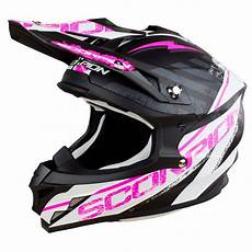 casque cross scorpion exo vx 15 evo air gamma noir blanc
