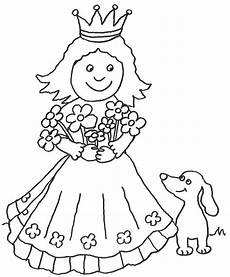 Gratis Ausmalbilder Zum Ausdrucken Prinzessin Prinzessin Malvorlagen Kostenlos Zum Ausdrucken