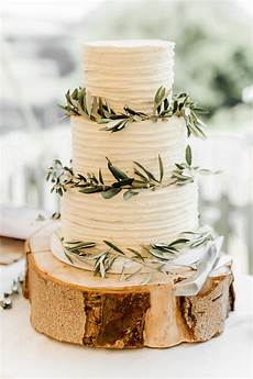 rustic wedding cake with olive leaves for vineyard wedding by white rose cake design wedding