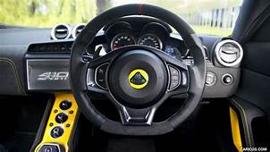 2017 Lotus Evora Sport 410  Interior Steering Wheel HD