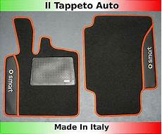 tappeti auto il tappeto auto smart for two dal 2007 tappeti auto