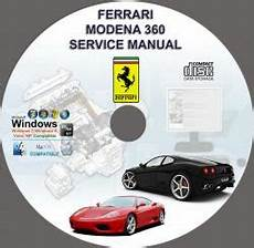 service repair manual free download 2012 ferrari 458 italia user handbook ferrari 360 modena workshop service repair manual on cd www servicemanualforsale com