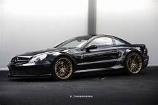mercedes black series mercedes sl65 amg black series gets new set of rims courtesy of hre carscoops