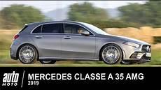 mercedes classe a 35 amg 306 ch 2019 essai auto moto