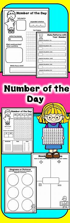 addition worksheets in 8897 number of the day freebie primary school curriculum thinking skills math made easy