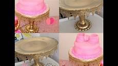 diy dollar tree wedding cake stand youtube