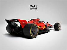 In Pictures 2021 Formula 1 Concept With The Ferrari Livery