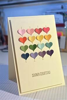 Pixie Scrap Jede Menge Herz Geburtstagskarte