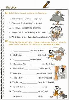 present continuous tense worksheets for grade 3 grade 3 grammar lesson 8 verbs the present continuous tense proyectos que intentar