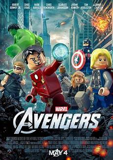 Awesome Lego Posters Marvel S The The