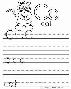 letter c for cat worksheets 24045 letter practice c worksheets dorky doodles