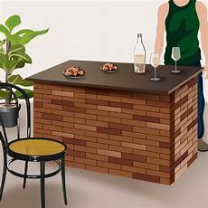comment fabriquer un bar en brique ooreka