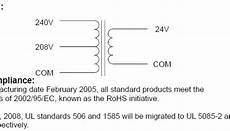 24v transformer wiring diagram need help wiring 240v gt 24v transformer for rpc start curcuit