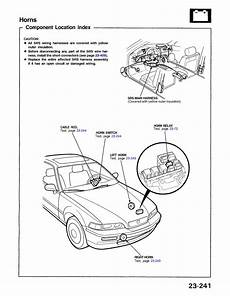 93 acura legend wiring diagram how do i disconect my horn on a 1993 acura legend