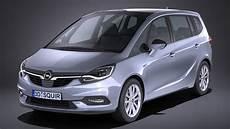 3d Model Opel Zafira 2017