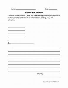 worksheets letter writing 24540 englishlinx writing worksheets