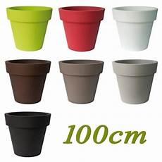 pot à fleurs pas cher grand pot de fleur ikon pot de fleur 100 cm