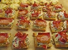 häppchen rezepte einfach schnell bacon tomaten frischk 228 se h 228 ppchen chefkoch de