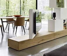 Design Raumteiler Mit Tv Paneel Drehbar