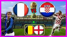 Fifa 18 Wm Prognose I Finale I Frankreich Kroatien I