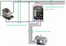 three phase contactor wiring diagram electrical info pics non stop engineering pinterest