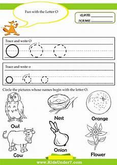 letter o tracing worksheets preschool 23921 kindergarten worksheets for the letter o search teaching alphabet