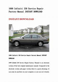 auto repair manual free download 1999 infiniti i on board diagnostic system 1999 infiniti i30 service repair factory manual instant download